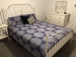 leirvik bed frame leirvik bed frame beds gumtree australia free local classifieds