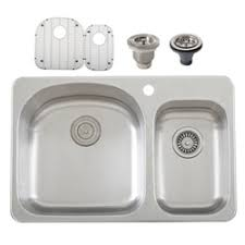 Overmount Double Kitchen Sink by Ticor Sinks