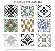 mission tile santa california where to buy cement tiles emily henderson