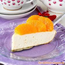 low carb joghurt quark torte mit mandarinen rezept ohne