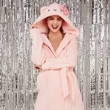 robe de chambre hello peignoir clair raikiz undiz