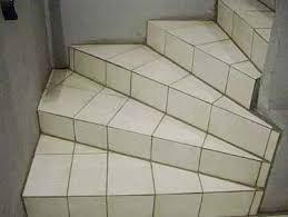 pose carrelage escalier quart tournant comment poser du carrelage dans un escalier maison design