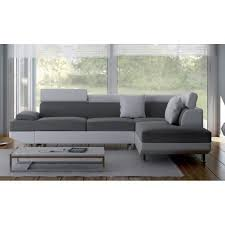 canapé gris et blanc pas cher canape d angle convertible gris photos canap convertible d 39