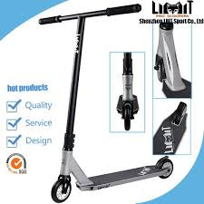 Freestyle Extreme Cheap Pro Scooters Silver Pedal Kick Scooter