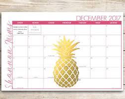 Decorative Desk Blotter Calendars by Desk Blotter Etsy