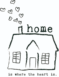 Home Is Where The Heart Illustratie
