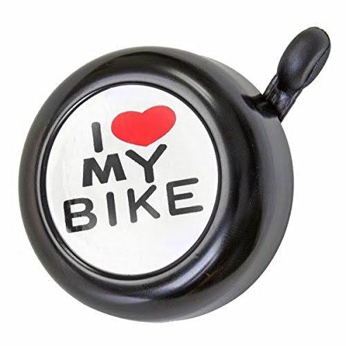 "Sunlite ""I Love My Bike"" Bell - Black"