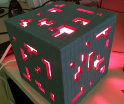 Super Solid Minecraft Redstone Lamp 6 Steps With Pictures