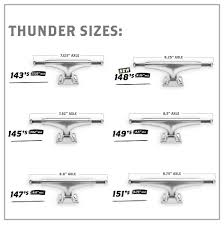 Thunder Trucks 147 Polished HI Hollow Light (8