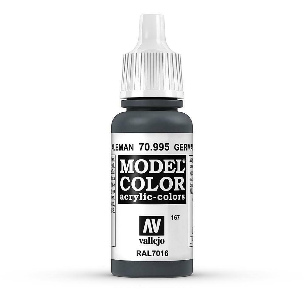 Vallejo Model Color Paint - 17ml, German Grey