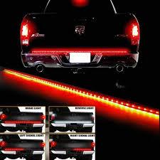 100 Truck Tailgate Light Bar Amazing 60 LED STRIP TAILGATE LIGHT BAR REVERSE BRAKE SIGNAL FOR