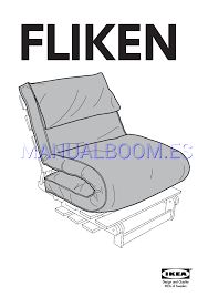 Read Online Assembly Instruction For IKEA MASSUM FLIKEN FUTON CHAIR ...