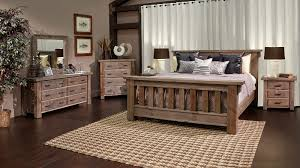 Rustic Dark Pine Bedroom Collection