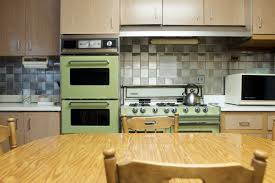 Kitchen Styles Painting 1960s Cabinets 1930s 1960 Decor Before After Remodel