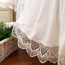 Beautiful White Lace Bed Skirt Dust Ruffle Custom Made Bed Skirt