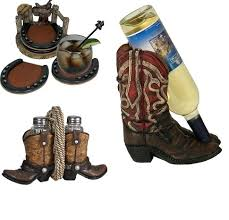 Wine Themed Kitchen Set by Western Cowboy Kitchen Items Western Boots Dining Set Cowboy
