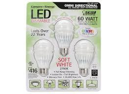 feit electric 60 watt replacement 9 5 w led lightbulb consumer