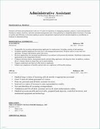 Gallery Of Resume For Secretary Examples 2016