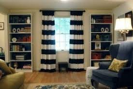 Black And White Striped Curtains by Wide Stripe Curtains Foter