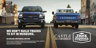 100 Chevy Truck Commercial First Ever Silverado Pace Leads Daytona 500 Castle