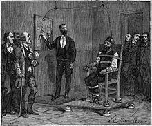 execution chaise electrique electric chair