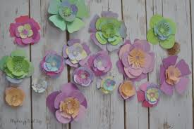 How To Make Cricut Paper Flowers