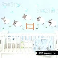 sticker mural chambre bébé stickers deco chambre bebe stickers muraux chambre bacbac pas cher