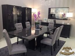 esszimmer set grey birch italienische luxus möbel