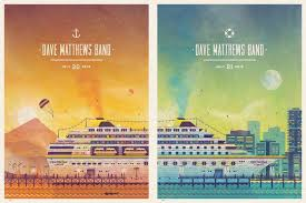 Dave Matthews Band West Palm Beach FL Poster Series By DKNG Design