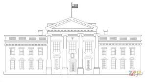 Click The White House Coloring Pages To View Printable Version Or Color It Online Compatible With IPad And Android Tablets