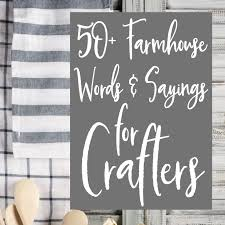 Jump On The Rustic Farmhouse Home Decor Trend In Your Silhouette Cameo Or Cricut Explore Crafting