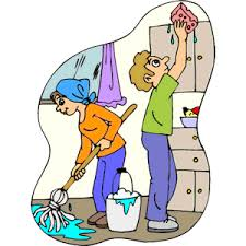 Cleaning Kitchen Clipart Free
