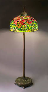 Curved Floor Lamps Uk by Floor Lamp Tiffany Style Tiffany Type Lamps Tiffany Style Poppy