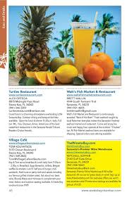 Curious Traveler Pumpkin Calories by Siesta Key Visitor Guide Simplebooklet Com