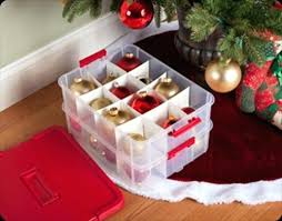 Ornament Box Storage Holiday Containers A