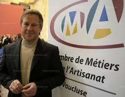 chambre des metiers du vaucluse vaucluse thierry aubert nouveau patron des artisans