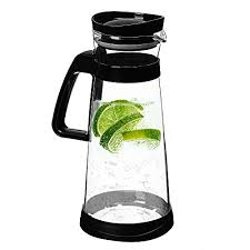 Jalousie Airtight Glass Pitcher Cold Brew Coffee Maker With Stainless Steel Filter Ice Tea