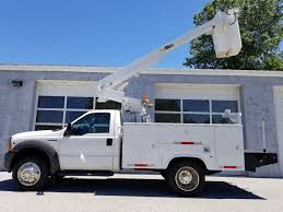 2005 Used Ford F450 DRW 31 Foot Altec Bucket Truck 31 Foot Platform ...