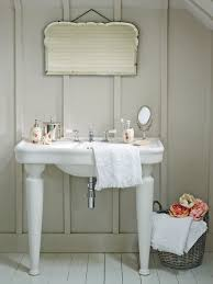 Shabby Chic White Bathroom Vanity by Laurel U0026 Wolf Explains Shabby Chic Vs Romantic