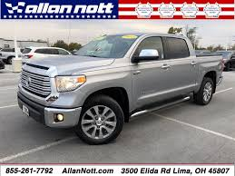 Vehicle Details - 2014 Toyota Tundra At Allan Nott Honda Lima ... 2014 Motor Trend Truck Of The Year Contender Toyota Tundra Used Crewmax 57l V8 6spd At Sr5 Natl At North Tacoma Review Ratings Specs Prices And Photos The 32014 Pickup Recalled For Engine Flaw Preowned Crew Cab In San Antonio For Sale Winnipeg 4x4 Double 2013 New Trd Sport Hd Youtube Sale Latham Ny 3tmlu4en9em161867 Price Reviews Features Prerunner 4d Sunnyvale Jacksonville