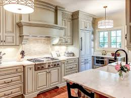Enchanting Off White Rustic Kitchen Cabinets Designs Hi Res Wallpaper Photos Creating Natural Ambience With Full Hd