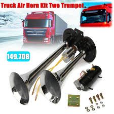 Truck Air Horn Kit Two Trumpet 110 PSI 12V DC Compressor Pressure ... Voluker 4 Trumpet Train Air Horn Kit150db Loud Compressor Amazoncom Iglobalbuy Super 12v Dual 150db Truck Mega Single Kit W Dc 12v Emergency Fire Ftkit Horns Of Texas Mirkoo Twin Tone Chrome Plated Air Horn Kit Diesel Pinterest Trucks Chevy Car Boat 117 Wolo Mfg Corp Air Horns Horn Accsories Comprresors Pcwizecom Truhacks Triple Boss Suspension Shop Kits Model Hk2 Kleinn Mpc M1 Review Best Unbiased Reviews