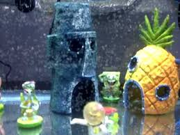 Spongebob Fish Tank Ornaments by New Fish Tank Spongebob Theme Includes Chum Bucket Youtube