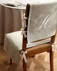 French Laundry Home Chair Pad With Monogrammed Slipcover ... Adorable Ding Room Chair Cushions Set Of 6 Piece Patterns How To Make Removable Covers Arm Slipcovers For Less Than 30 Howtos Captains Etsy Chairs Back White Bla Grey Tufted Target Co Wood Pad Without Pads Ties Round Roll Room Ideas Tailored Denim Seat The Slipcover Maker Dingroomchaircoversblue Beautifying Your Every Taste Latest Home Details About Uk Knit Stretch High Tapered Rooms Dark