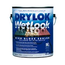 Dupont Tile Sealer High Gloss by Drylock 1gal High Gloss Wet Look 28913 Clear Sealers Ace