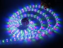China Online Shopping Rope Light Christmas Tree Spiral Led