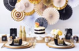 Glam Gold And Black Wedding Decoration Ideas