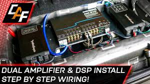 Car Audio Wiring - Dual Amplifier And DSP Install - YouTube San Diego Motorcycle Stereo System Speaker Installation Top 10 Best Car Systems In 2018 Bass Head Speakers Howto Install A Sound System Your Utv Dirt Wheels Magazine Jl Audio Stealth Box Tor Titan Crew Cab Nissan Forum How To Make Dumb Car Smarter Pcworld Homebrew Hightech Handbuilt Truckin Custom Truck With Kicker Subs And Alpine Upgrade Your World Wide Powersport One Bed Camping Pinterest Bed Camping X009gm2 Indash Restyle Navigation Receiver Custom Fender Premium Exclusively Volkswagen