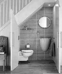 Half Bath Theme Ideas by Bathroom Under Stairs Attic Bathroom Bathroom Toilets Tiny