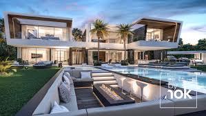 100 Unique House Architecture Construction Luxury Modern Villa In Madrid